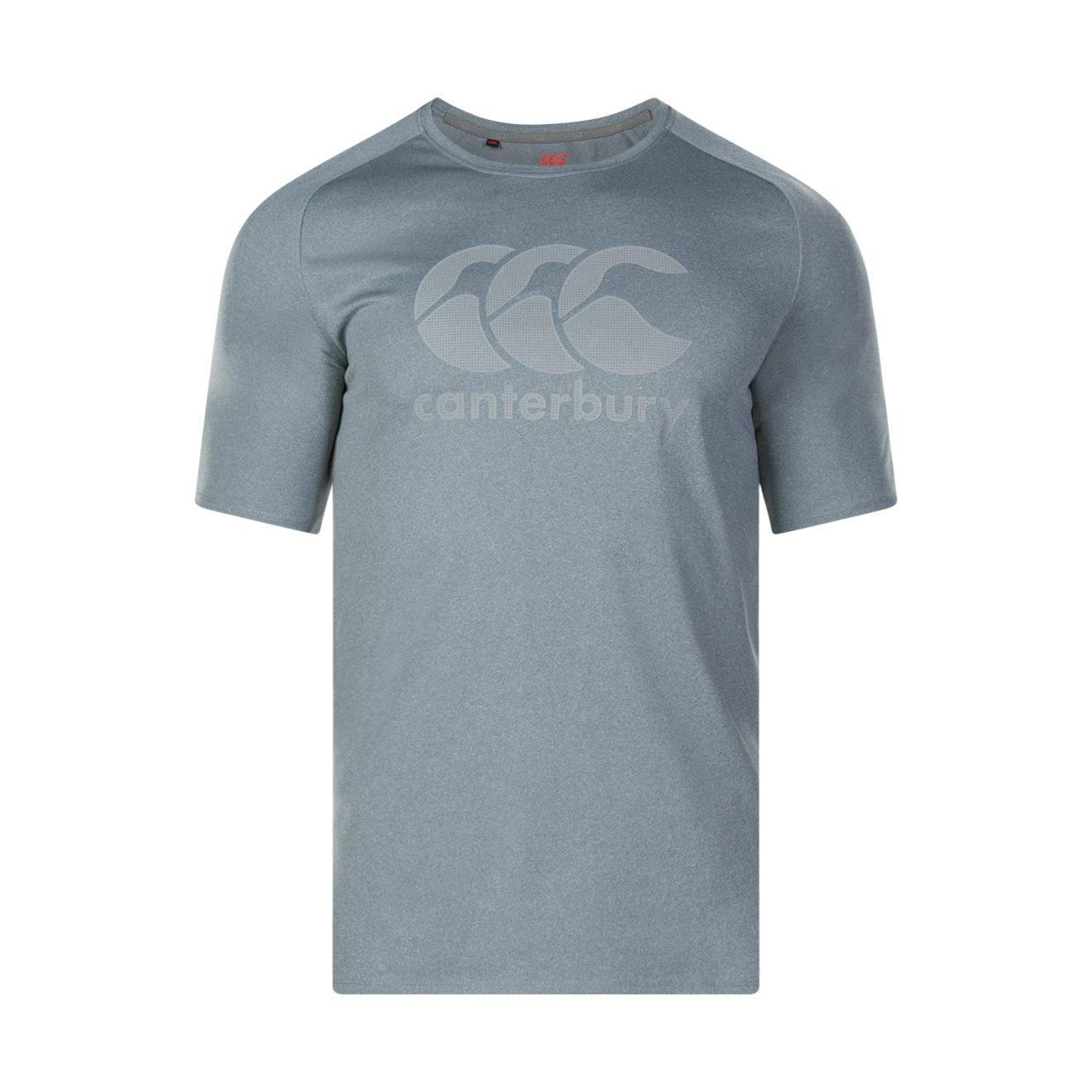 Canterbury Core Vapodri Poly Logo Training T-Shirt SS17