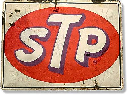 BORJOR STP -Cartel de Pared estaño Placa Metal Pintura ...