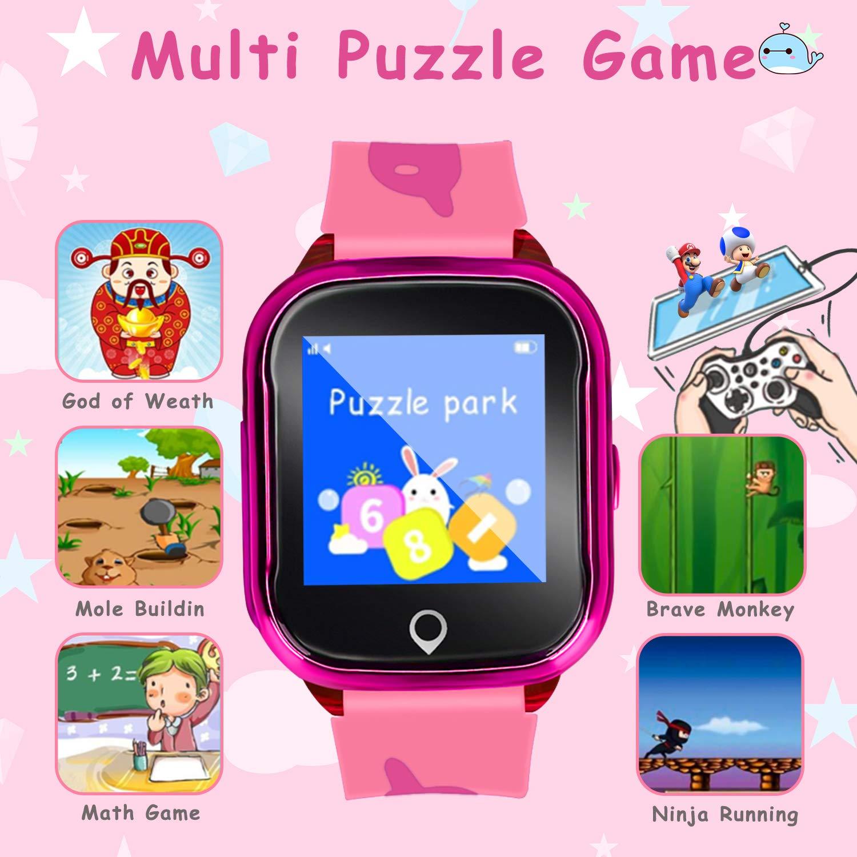 Amazon.com: LJRYCQSSZSF 2019 - Reloj inteligente para niños ...