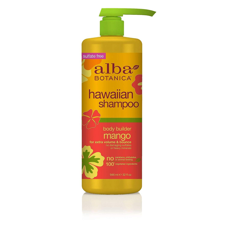 Alba Botanica Body Builder Mango Hawaiian Shampoo, 32 oz.