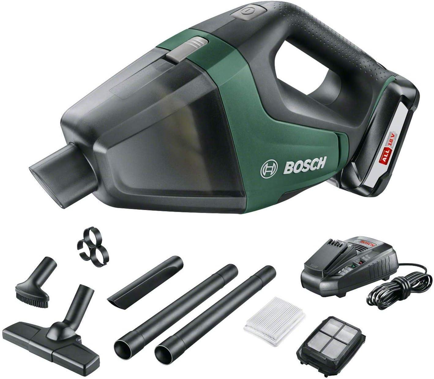Bosch Home and Garden UniversalVac 18 - Aspirador, batería de 2.5 ...