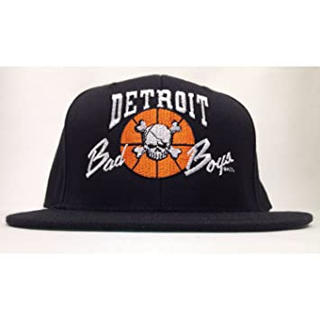 625394de634ec1 Detroit Bad Boys '88-'89 Pistons NBA Champions Retro Snapback Hat Cap D  Vintage: Amazon.ca: Sports & Outdoors