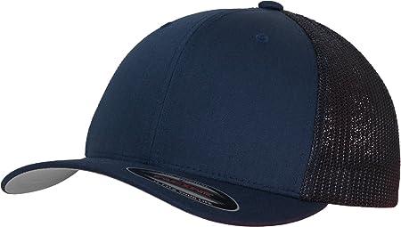8f53e46d9e3ed7 Flexfit Erwachsene Mütze Mesh Trucker, blau (Navy), S/M: Amazon.de ...