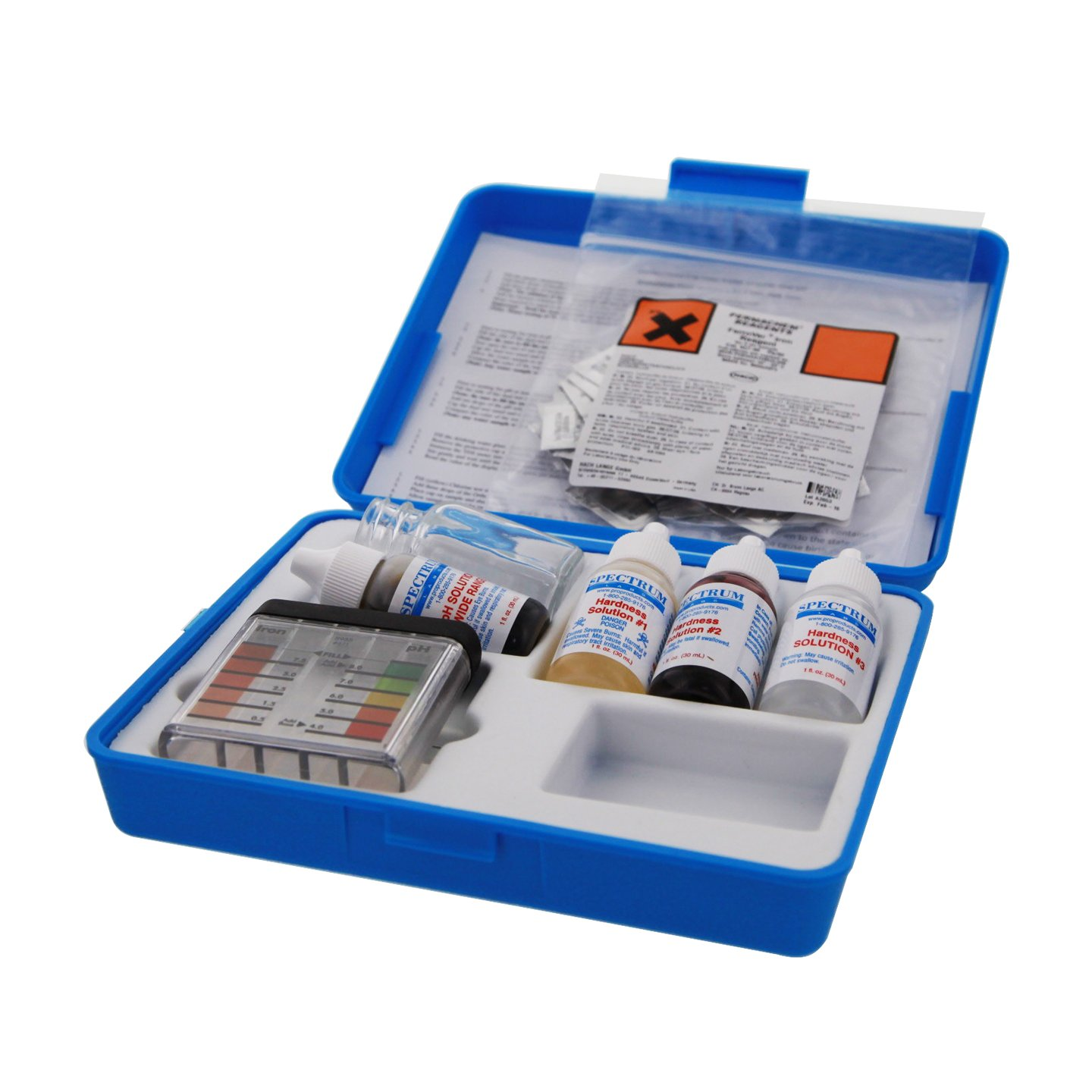 Pro Products Spectrum Standard Hardness Field Analysis Kits - The Best Water Quality Testing Equipment