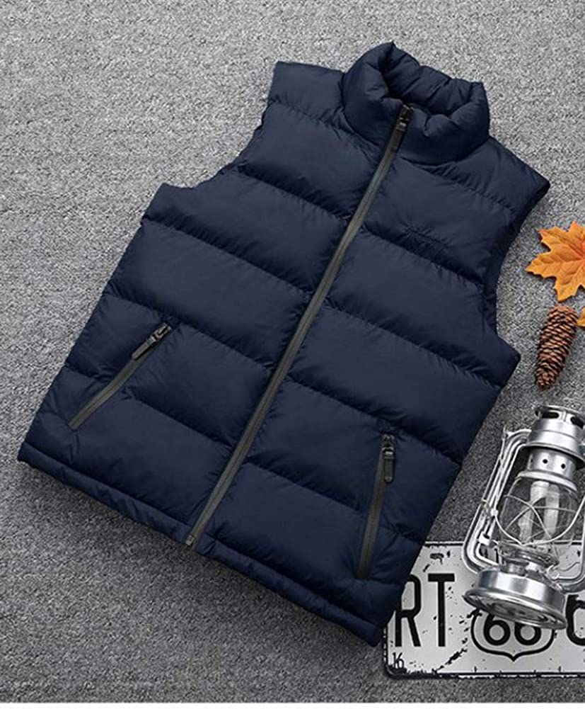 Mens Lightweight Full Zip Padded Gilet Quilted Vest Body Warmer