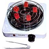 CCLIFE Hornillo eléctrico cachimba carbón Shisha Encendedor eléctrico cachimba shisha