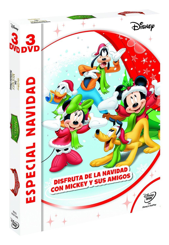 Pack: Especial Navidad - Mickey y Amigos [DVD]: Amazon.es ...