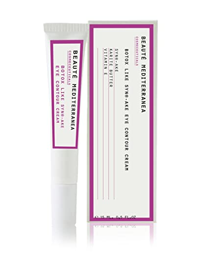 top fashion brand new buy online Beauté Mediterranea Crema Contorno Occhi Botox 15 ml: Amazon ...