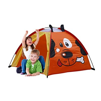 GigaTent Puppy Playhouse Kids' Dome Tent Easy to Set Up Carry Bag Included: Toys & Games
