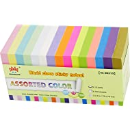 4A Sticky Notes,3 x 3 Inches,Neon Assorted,15 Different Colors,100 Sheets/Pad,15 Pads/Pack,4A 30315