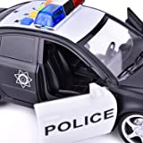 FUN LITTLE TOYS Police Car Toy Friction Powered