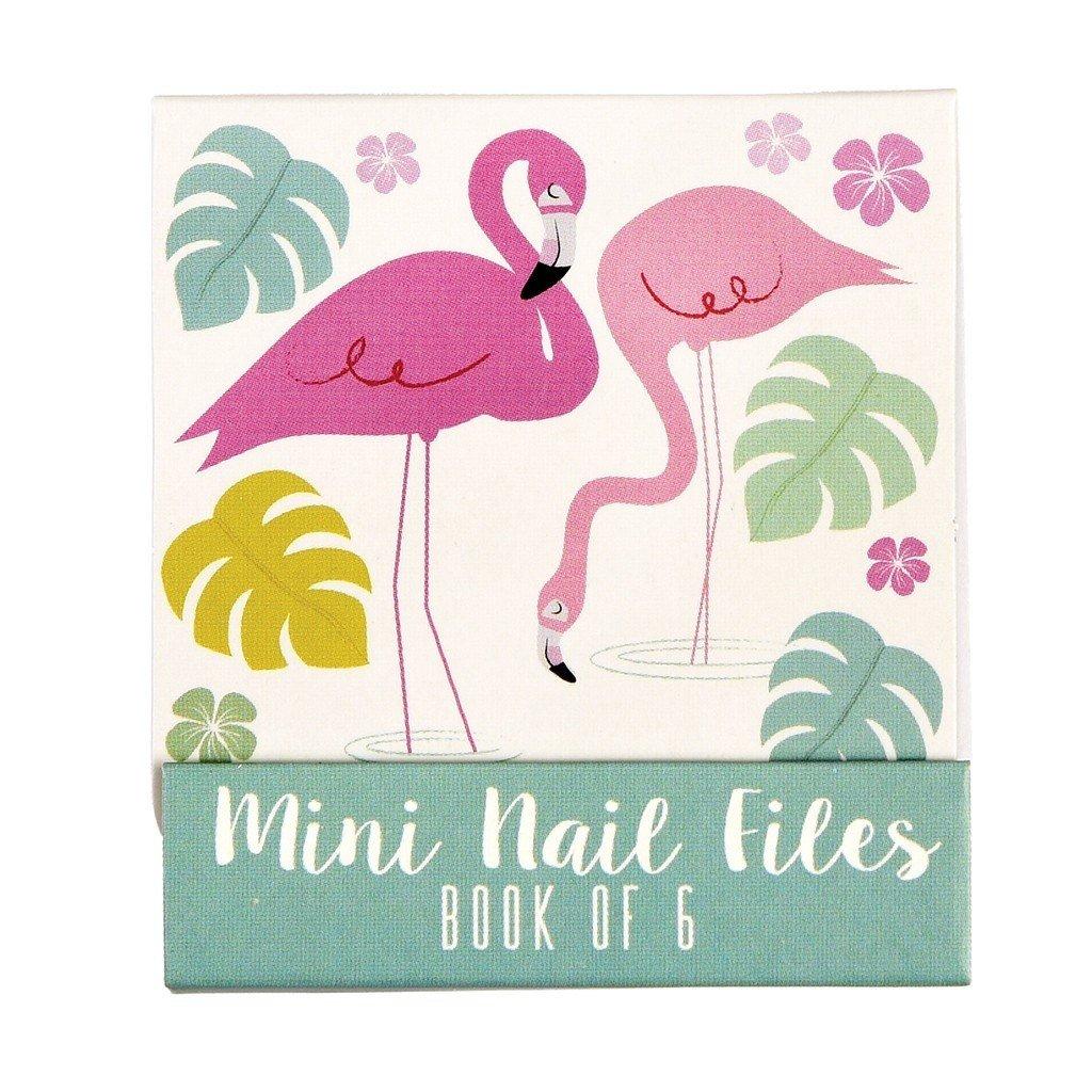 Flamingo Bay Matchbook Mini Nail Files Rex London