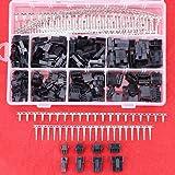 hilitchi 520PCS 2.5mm Pitch 2345pines JST SM Male & Female Plug Vivienda y macho/hembra Pin Header Crimp Terminales Conector Kit