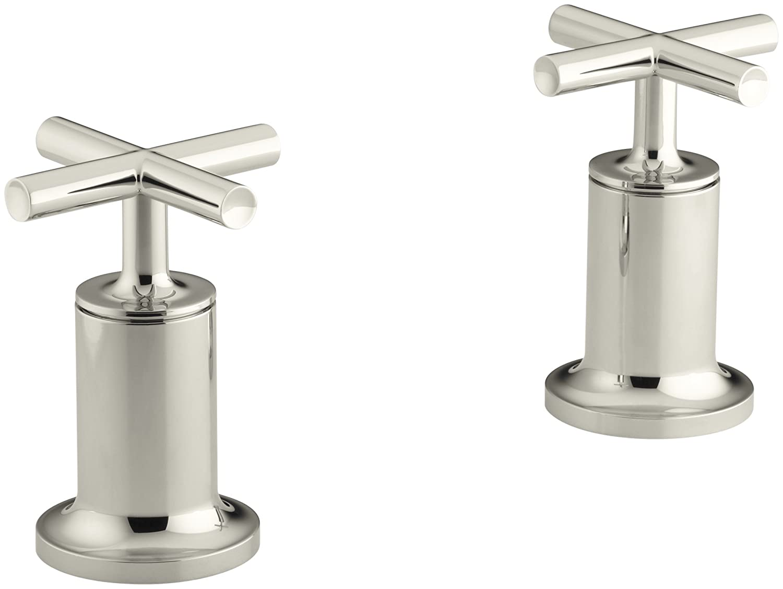kohler kt144293cp purist bath or deck wallmount highflow bath valve trim polished chrome tub filler faucets amazoncom - Kohler Purist