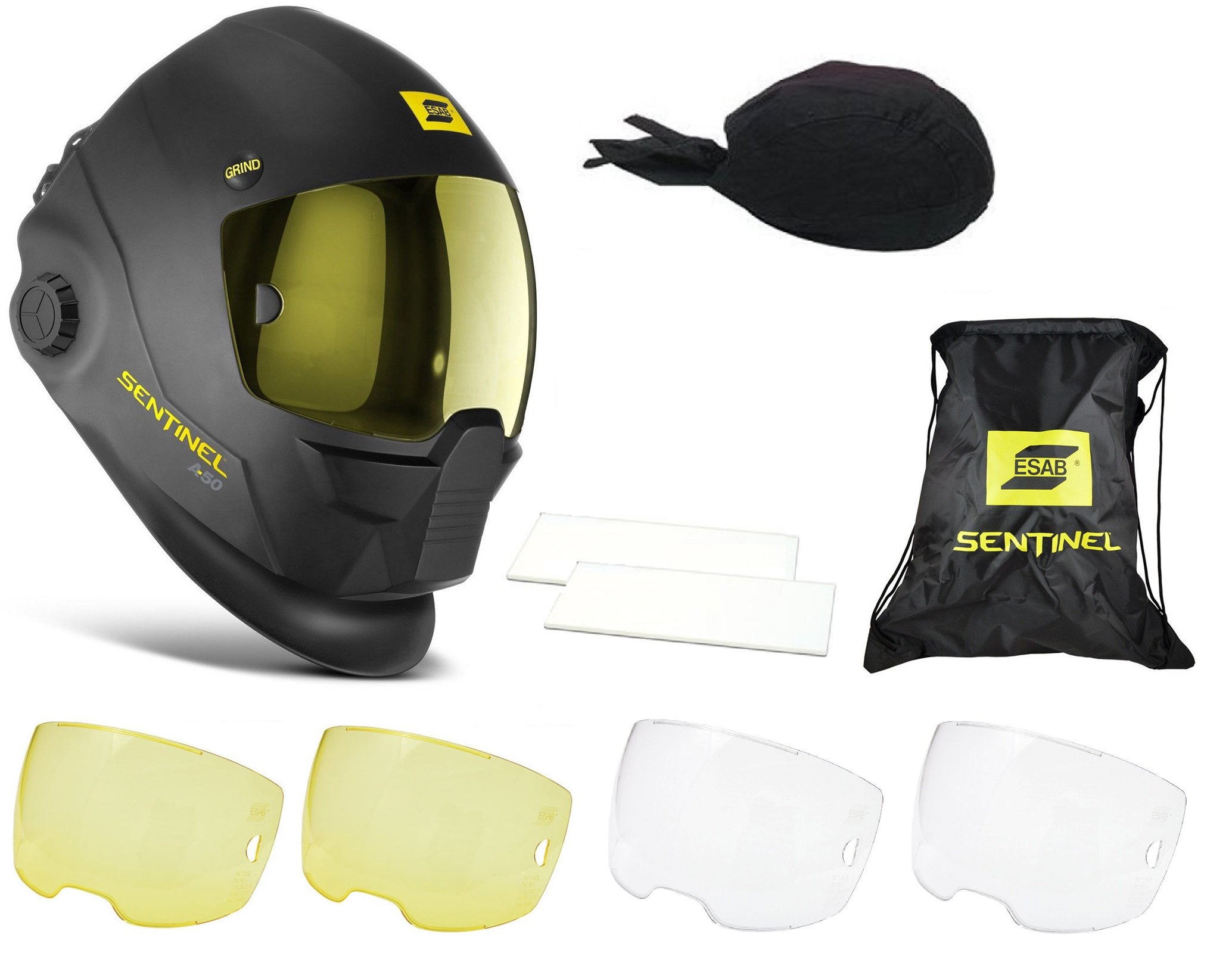 ESAB Halo Sentinel A50 Automatic Welding Helmet 0700000800 With FREE Accessories by ESAB