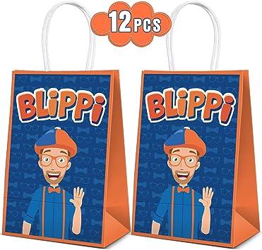 Amazon.com: 12 bolsas de fiesta para decoración de fiesta de ...