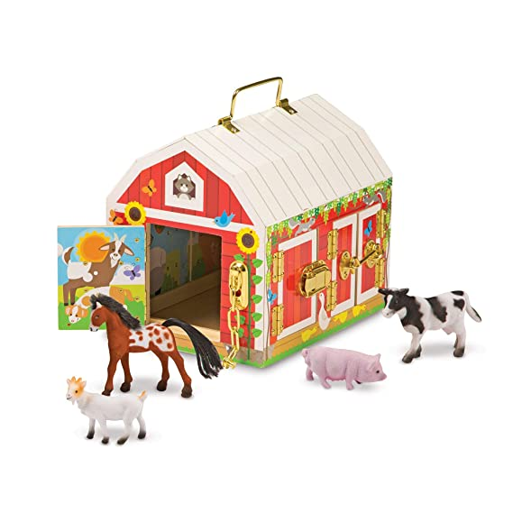 Melissa & Doug Latches Barn Toy by Melissa & Doug
