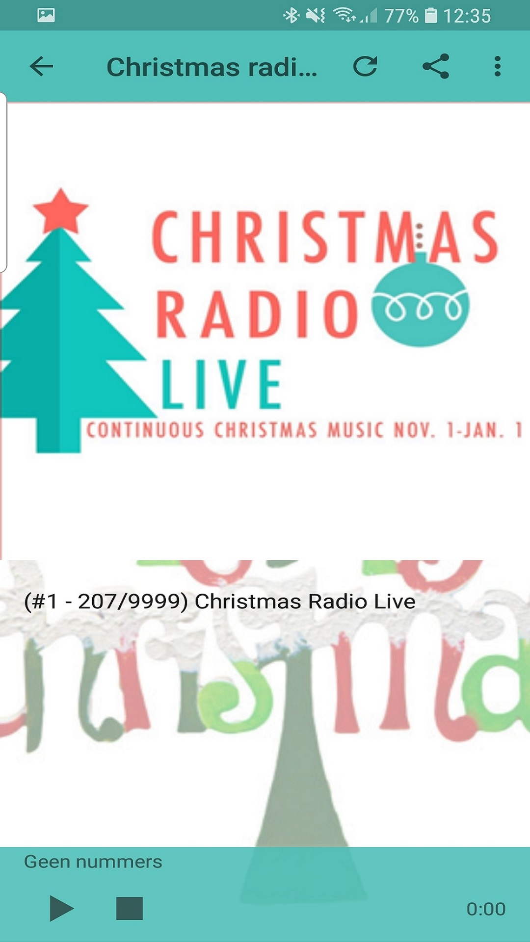 Continuous Christmas Music.Amazon Com Santa S Christmas Radio Appstore For Android