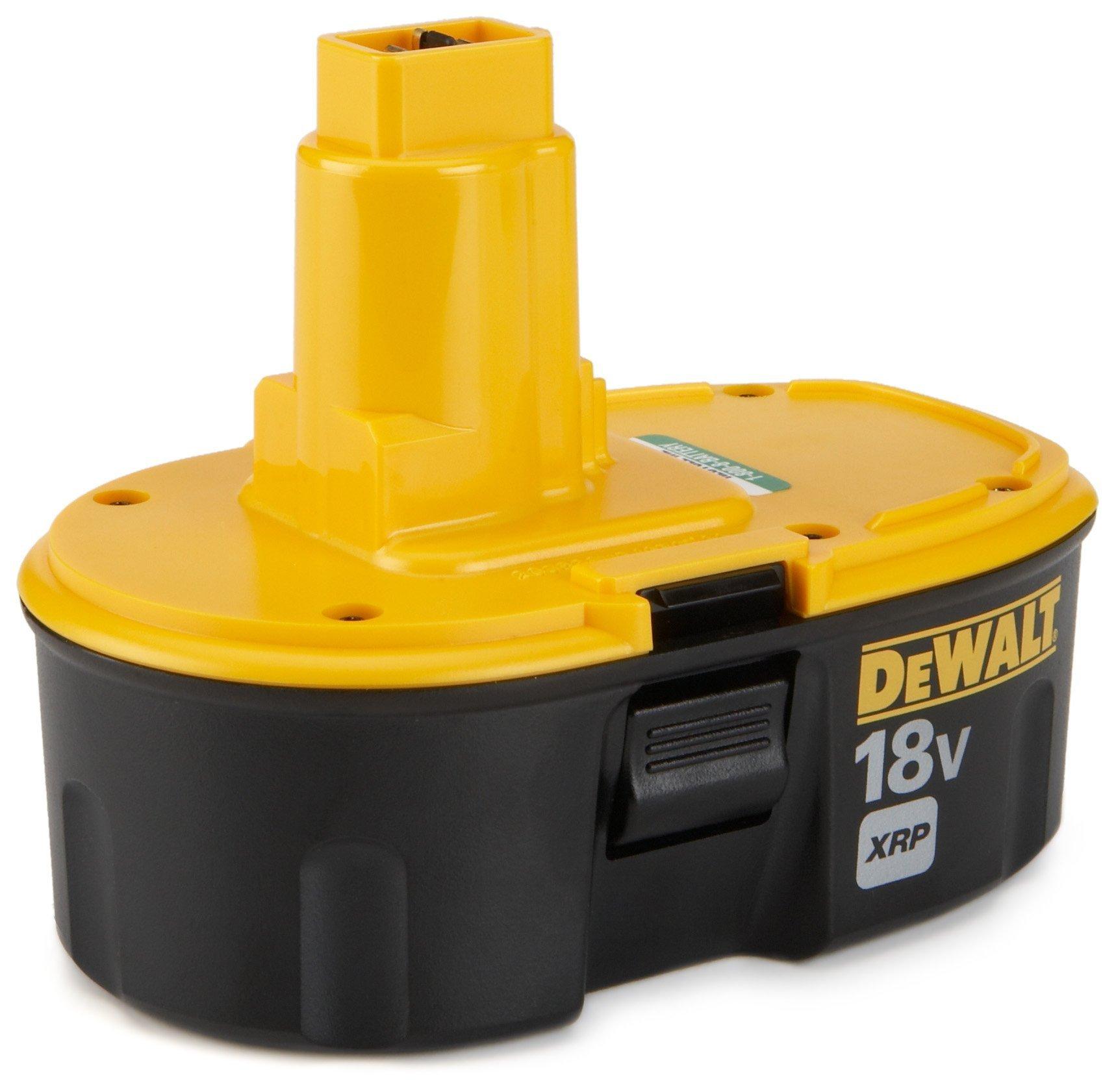 DEWALT 18V Battery, NiCd Pod Style, 2.4-Ah (DC9096) by DEWALT