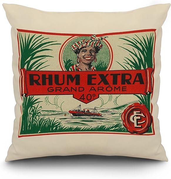 Rhum Extra grand Ar? Me marca etiqueta de Ron: Amazon.es: Hogar