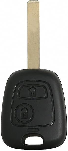 Peugeot 307 Peugeot 307 2 Botón Clave Llaves * * Clave Interruptor chasis Vivienda Peugeot 307