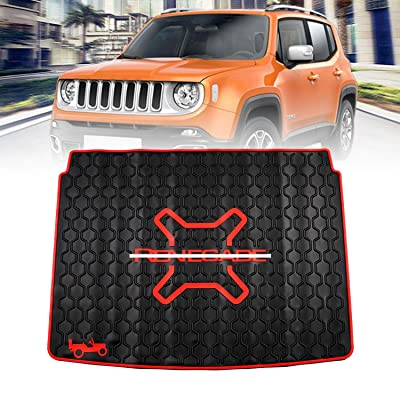 Premis Cargo Liners Trunk Mat Car Rear Boot Liner for Jeep Renegade 2015 2016 2020: Automotive