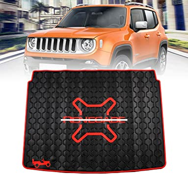 15 on HEAVY DUTY CAR BOOT LINER COVER PROTECTOR MAT Jeep Renegade