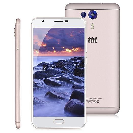 15 opinioni per THL Knight 1 Smartphone, 5.5 Pollici FHD IPS Display Android 7.0 4G Telefono