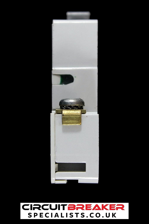 CRABTREE 40 AMP TYPE 1 M6 MCB CIRCUIT BREAKER SB6000: Amazon.co.uk ...
