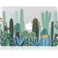 iDonzon - Carcasa para MacBook con diseño de Marbel, Cactus Pattern, 2018 MacBook Air 13 inch(A1932)