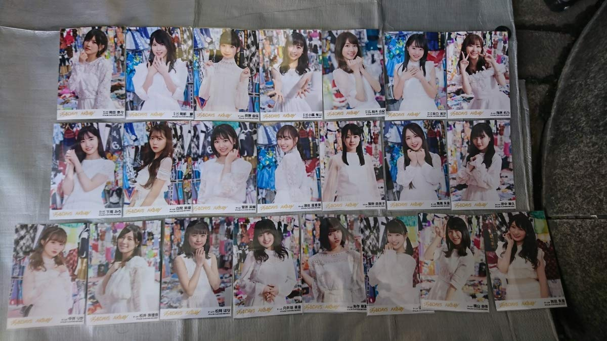AKB48 55thシングル ジワるdays 劇場盤 生写真④ フルコンプ68枚   B07PR9721F