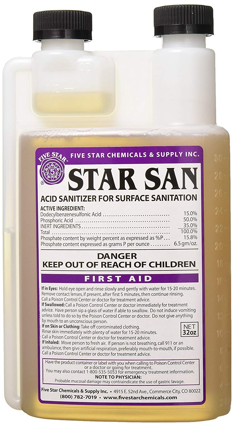 Five star Star San 32oz (Pack of 4) by Five Star (Image #2)