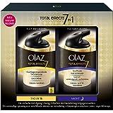 Olaz - Total Effects - Kit de soins jour et nuit anti-âge - 2x37 ml