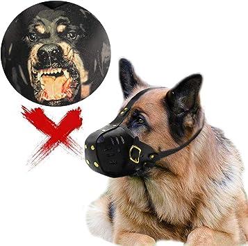 WXJHA Bozal para Perro, Boca Grande para Perro, máscara de ...