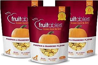 product image for Fruitables Baked Dog Treats Pumpkin & Cranberry Flavor (3 Pack) 7 oz Each
