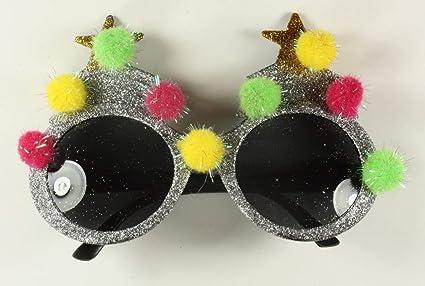 5d9f0714a027 Christmas Novelty Christmas Tree Glittery Glasses Xmas Specs. Stocking  filler Secret Santa.
