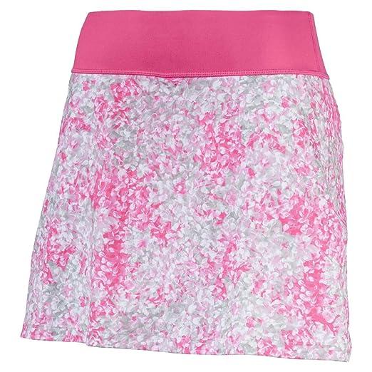 30990356ec Puma Golf Women's 2018 PWR Shape Floral Knit Skirt, XX-Small, Carmine Rose