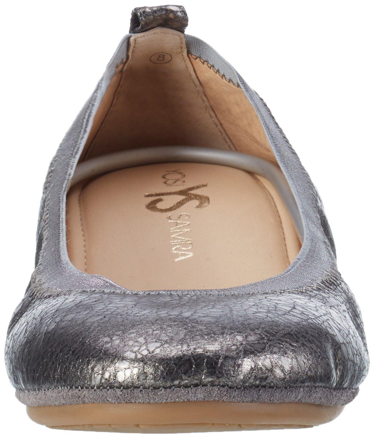 Yosi Samra Women's Samara 11 2.0 Ballet Flat B01NCM93R4 11 Samara B(M) US|Pewter aac66a
