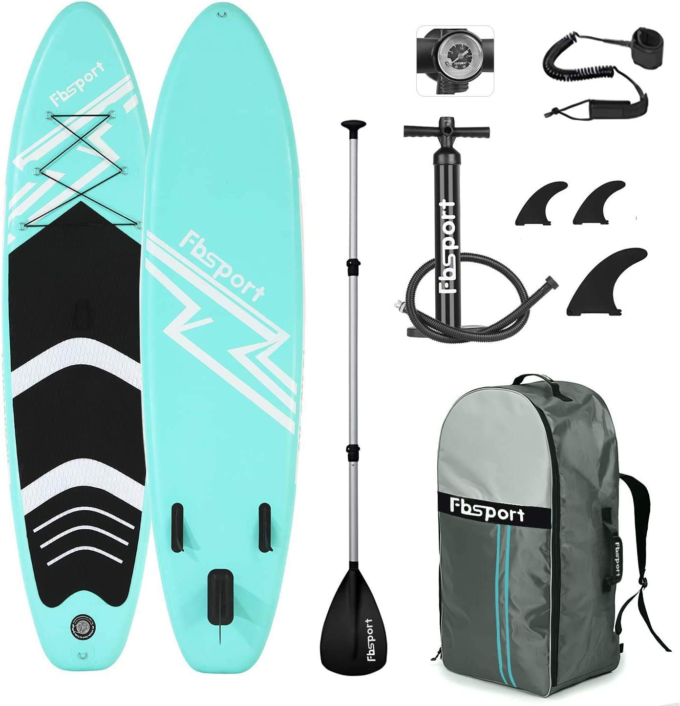 Best THURSO SURF Inflatable Paddle Board Package