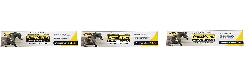 Duramectin Ivermectin Paste 1.87% for Horses, 0.21 oz Durvet