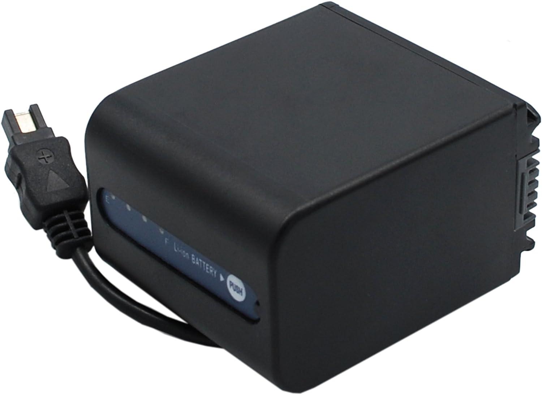 XPS Replacement Battery Compatible with Sony DCR-SR100 DCR-SR300 DCR-SR60 DCR-SR62 DCR-SR68 DCR-SR68E DCR-SR68E//S DCR-SR68R DCR-SR78 DCR-SR88
