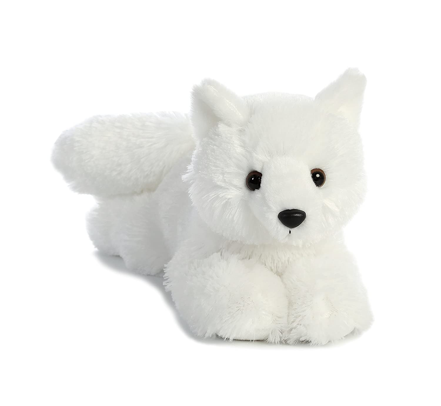 Amazon Com Aurora World Flopsie Toy Arctic Fox Plush 12 Toys Games