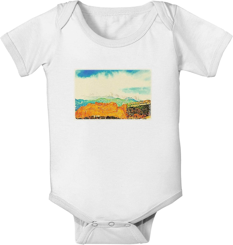TooLoud CO Beautiful View Infant T-Shirt Dark