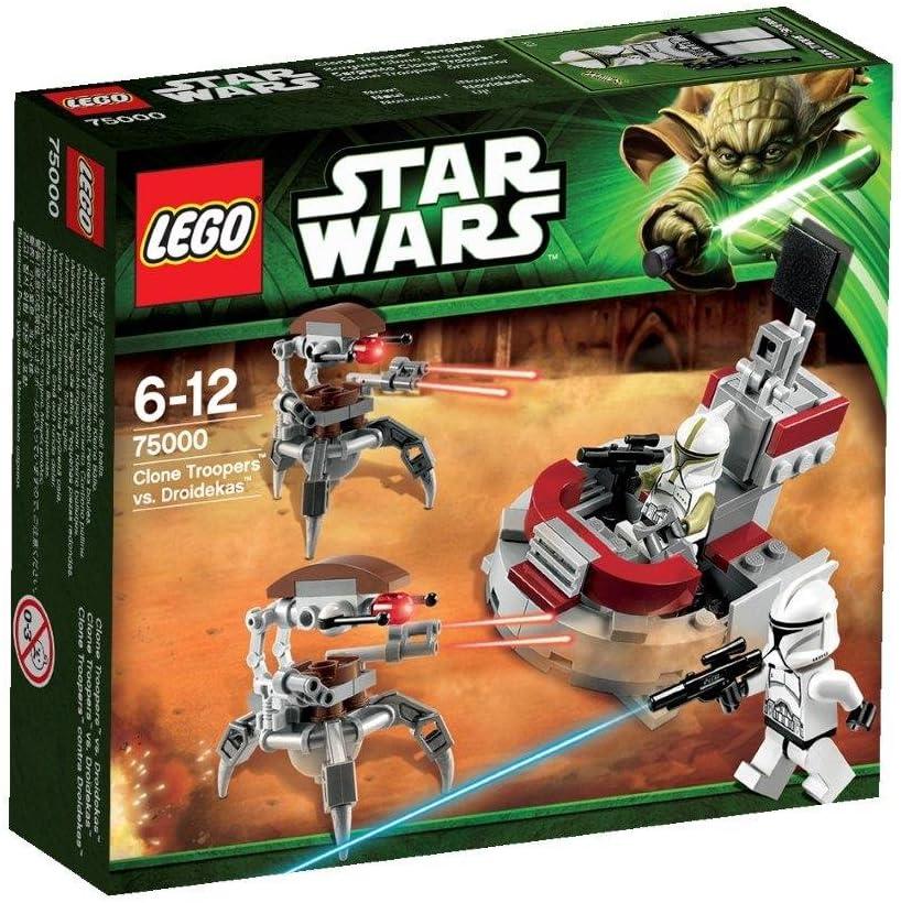 LEGO Star Wars - Clone Trooper vs. Droidekas (75000): Amazon.es ...
