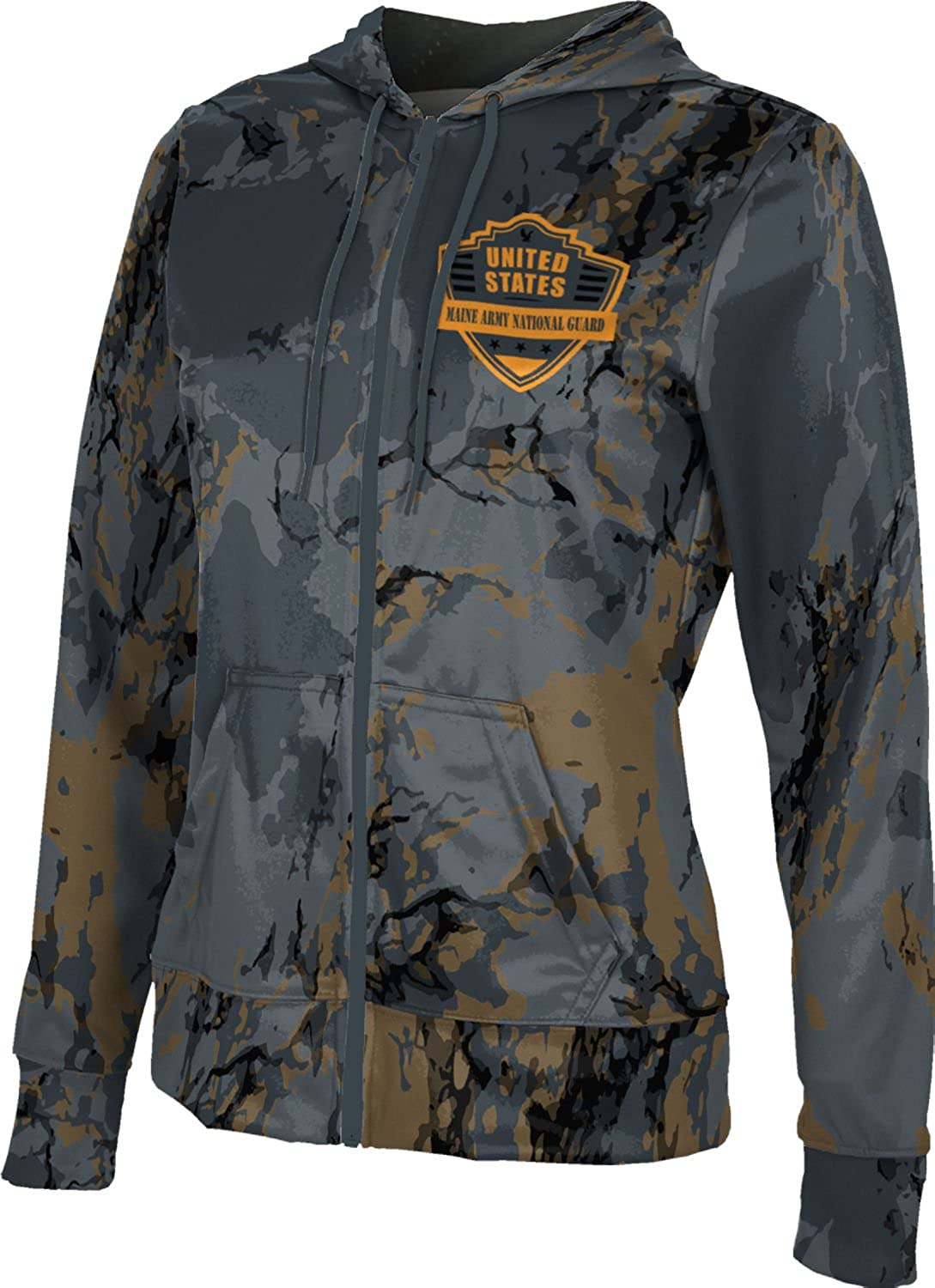 ProSphere Women's Maine Army National Guard Military Marble Fullzip Hoodie