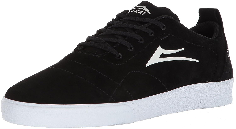 Lakai Limited Footwear Mens Bristol B073SP2VN5 7 M US|Black/White Suede