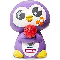 TOMY E72724 Tuneless Penguin Bath Toy,Purple