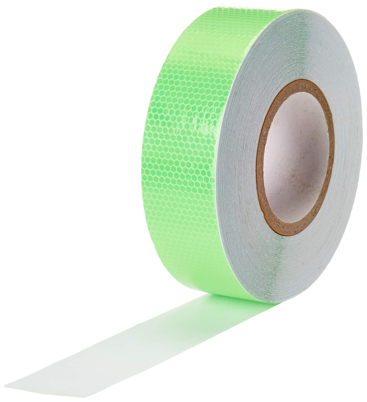 Abrams 2'' in x 150' ft Diamond Pattern Trailer Truck Conspicuity DOT Class 2 Reflective Safety Tape - Green