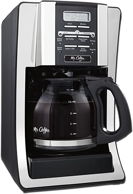 Mr Coffee 12 Cup Programmable Coffee Maker Wi