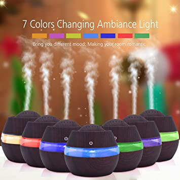 Pangxiannv USB Mini Humidifier Home Office Desk Night Light Humidification Atomizer Diffuser Essential Oil Diffuser Oil Diffuser Young Living Diffuser Aromatherapy Diffuser Reed Diffuser
